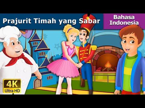 Prajurit Timah yang Sabar  Dongeng bahasa Indonesia  Dongeng anak 4K UHD Indonesian Fairy Tales