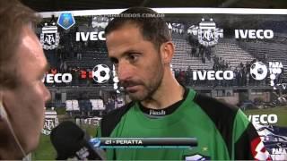 """""""El equipo esta intentando una idea nueva"""". Quilmes 1 Godoy Cruz 0. Torneo Final 2013. Fecha 2."""