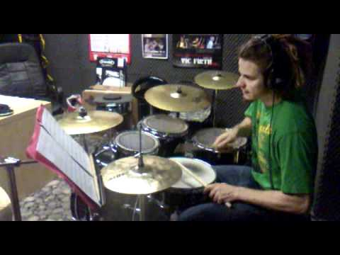 Krecsmáry Zsolt, Marvin Sapp Possess The Land .gospel drums