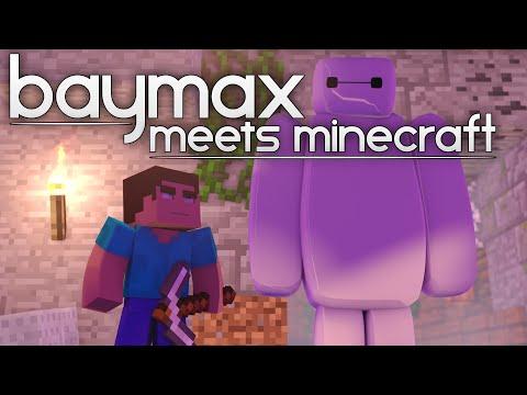 Baymax Meets Minecraft ●—● - Minecraft Animation (from Big Hero 6)