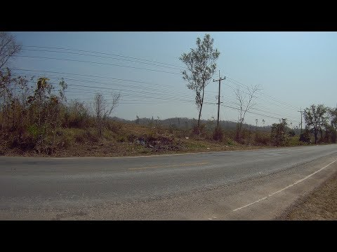 Leaving Chiang Rai  on  the  way to   Nan province