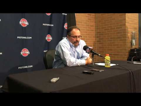 SVG reacts to Pistons' blowout loss to Bucks: 'It's on me'