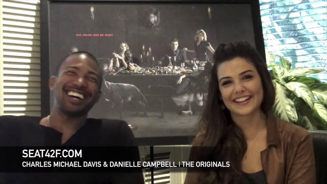 Charles Michael Davis Danielle Campbell The Originals Interview