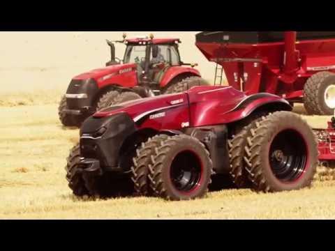 CNHI CaseIH Premieres Autonomous Driving Farm Progress 2016 New Holland Future of Farming Concept
