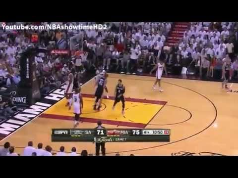 NBA Finals 2013 Game 7 Full Highlights - San Antonio Spurs vs. Miami Heat (June 20, 2013)