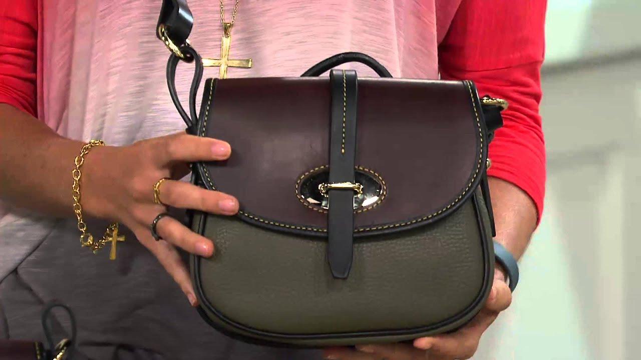 Dooney Bourke Verona Leather Cristina Crossbody Bag With Kerstin