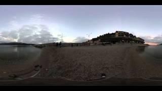 Spiaggia della Pianotta a Porto Azzurro all'Isola d'Elba, #360video