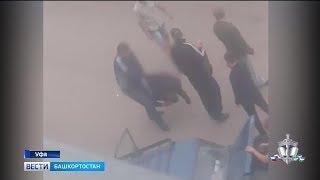 В Уфе задержали трех молодых людей, которые избили мужчину и возили его в багажнике