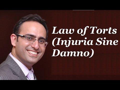 Law of Torts [Video-2] Injuria Sine Damno