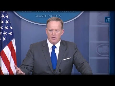 CRUSHED! SEAN SPICER JUST DEMOLISHED THIS ABC REPORTER FOR DISGUSTING ACT AT WH PRESS EVENT