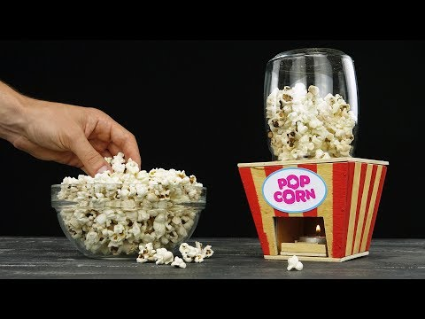Thumbnail: DIY Popcorn Machine from Wood at Home