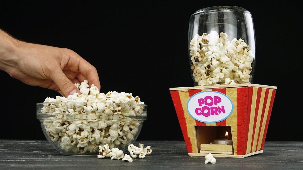 How to make kettle corn at home with popcorn machine