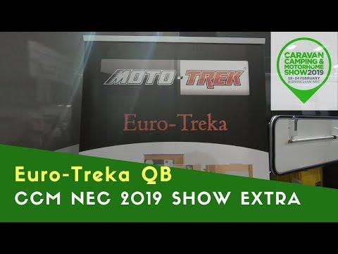 Moto-Trek Euro-Treka QB | Caravan Camping And Motorhome Show NEC 2019 Extra