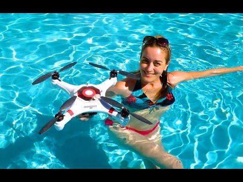 """Mariner"" Drone w/WATERPROOF FPV!!  DON'T try this with your DJI Phantom or Inspire!"