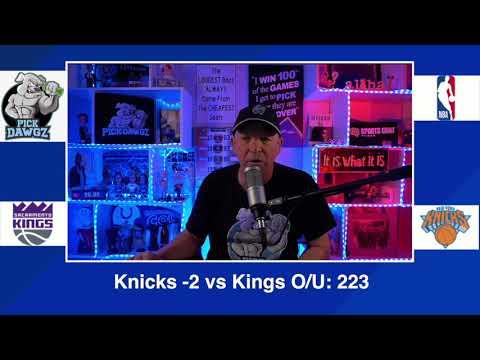 New York Knicks vs Sacramento Kings 2/25/21 Free NBA Pick and Prediction NBA Betting Tips