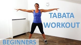Tabata Workout For Beginners – 25 Minute Full Body Tabata Workout Routine With Low Impact Exercises