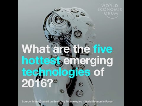 What are the five hottest emerging technologies of 2016?