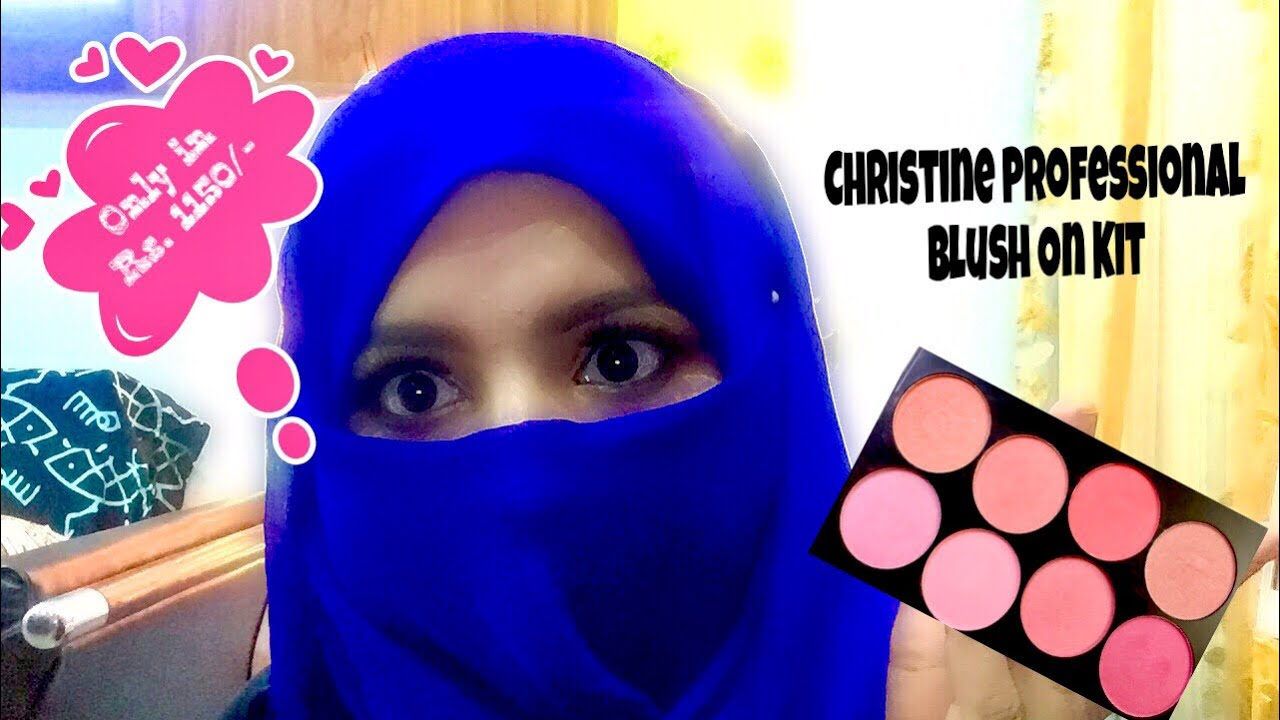 Affordable Blush On Palette In Pakistan Christine Cosmetics