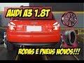 Audi A3 1.8T - Rodas e Pneus novos !!!