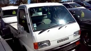 1997 Suzuki Carry 3 Way Open AWD 31K's  Low Mileage