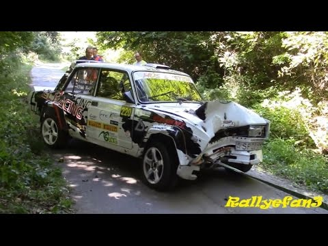 LADA RALLY CRASH 2016