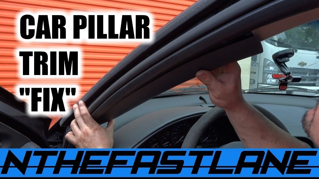 ️interior Pillar Trim Loose Falls Down Fix Quot How To