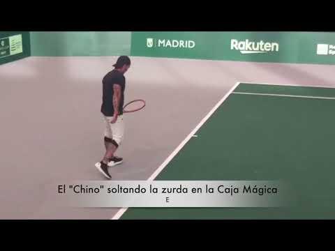 """El """"Chino"""" Ríos Soltando La Zurda En La Caja Mágica De Madrid"""