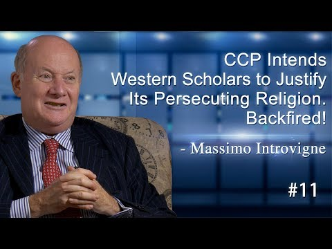 CCP Intends Western Scholars to Justify Its Persecuting Religion. Backfired! - Massimo Introvigne