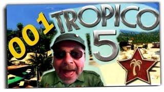 TROPICO 5  # 001 - Zum Diktator geboren - Let´s play,Deutsch,German
