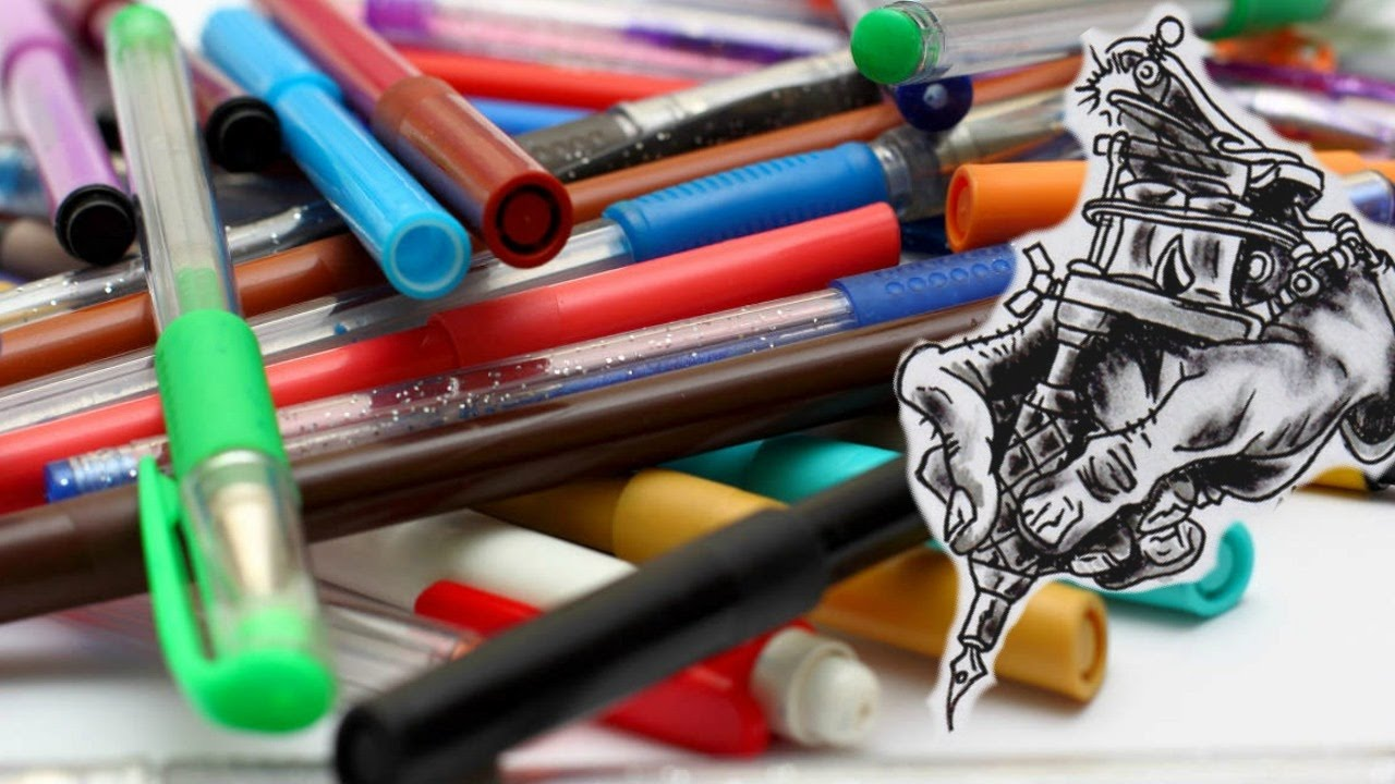 Pen Inks And Markers You Can Tattoo With