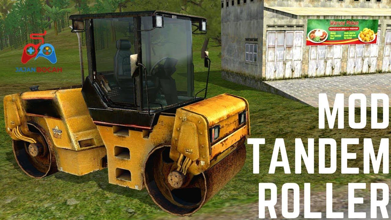 MOD TANDEM ROLLER   BUSS ID   Bus Simulator Indonesia   Game Truck   Permainan Simulator
