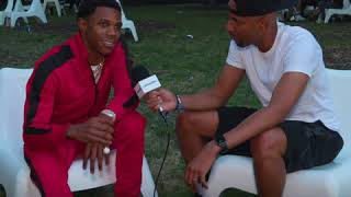 A Boogie sits down with Gray Rizzy at Lollapalooza 2018