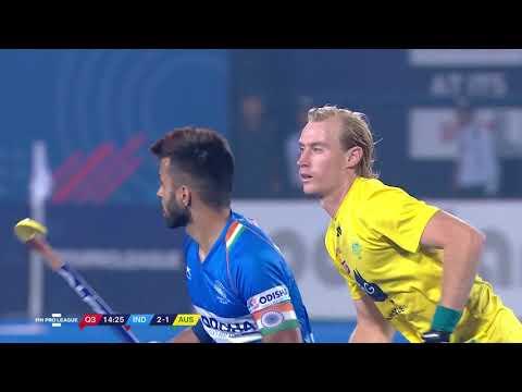 India V Australia | Match 24 | Men's FIH Hockey Pro League Highlights