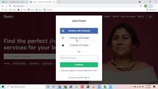 How to create a fresh account on fiveer receive money on fiverr