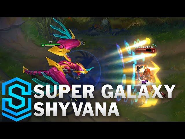 Go Go League Of Legends Super Galaxy Skins For Fizz Shyvana And