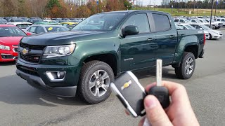 2016 Chevrolet Colorado Z71: Start Up, Exhaust and Review