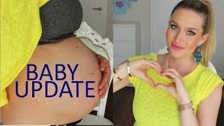SCHWANGERSCHAFTS UPDATE Baby Bett, Gewichtszunahme uvm
