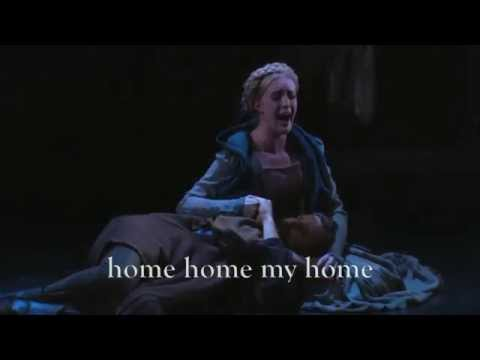The Lady Sings a Welsh Song - music by Michael Roth - from HENRY IV - performance video w/subtitles