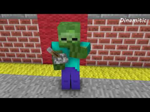 Monster School Day - Minecraft Animation (Noob Life Series)