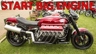 Big Engines Motorcycles Starting Up thumbnail