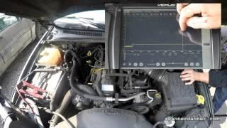 How to test a crank sensor (Chrysler Dodge Jeep)