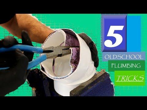 The 5 BEST OLDSCHOOL Plumbing Tricks EVER! | GOT2LEARN
