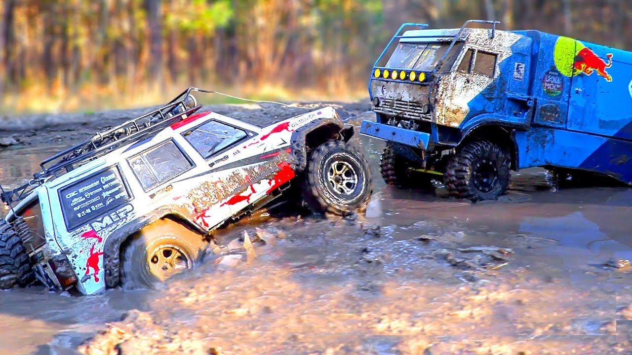 RC Cars MUD OFF Road – KAMAZ Dakar, Jeep Cherokee | Wilimovich