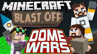 Minecraft Mods - Blast Off! #70 - DOME WARS