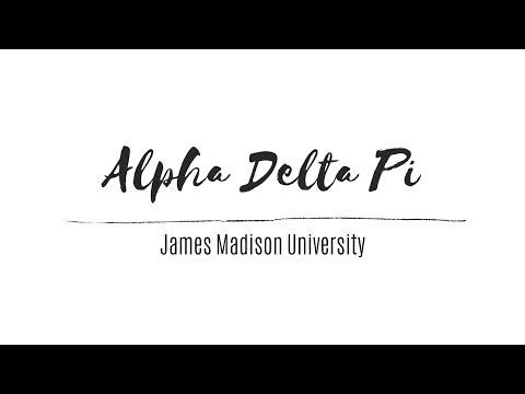 Alpha Delta Pi Sisterhood 2019 | James Madison University