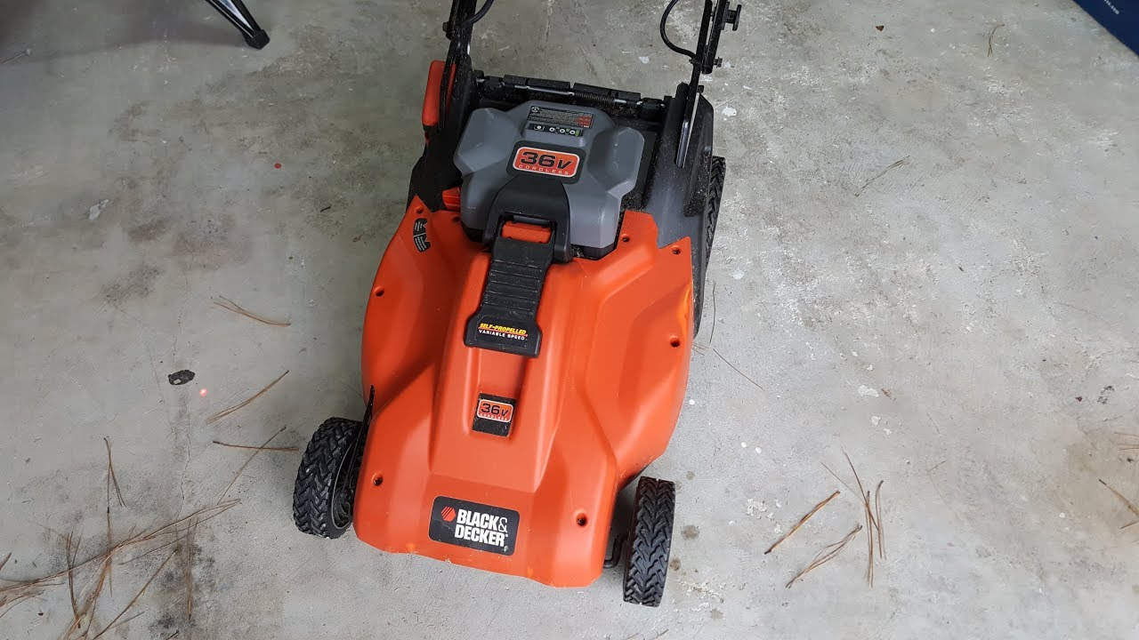Repair Black And Decker Electric Lawn Mower