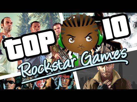 Rockstar Games | Top Ten List of All Rockstar Games | Urban Gameplay Reviews Rockstar Games