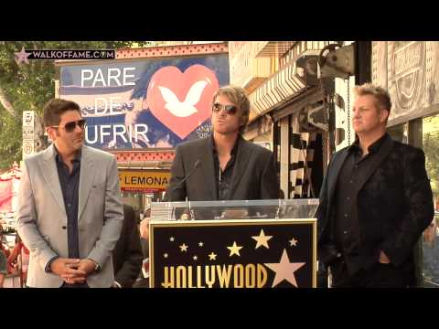 RECORDING ARTISTS RASCAL FLATTS HONORED WITH HOLLYWOOD WALK OF FAME STAR