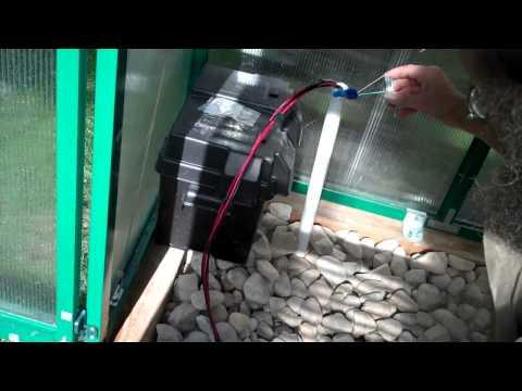 Solar Power to the Heat Sink Fan