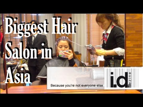 Getting My Hair Done at the Biggest Hair Salon in Asia